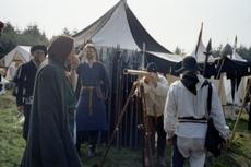 Waffenlager, Zelt des Ritters, Fernrohr