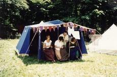 Das Zelt der Schneiderinnen