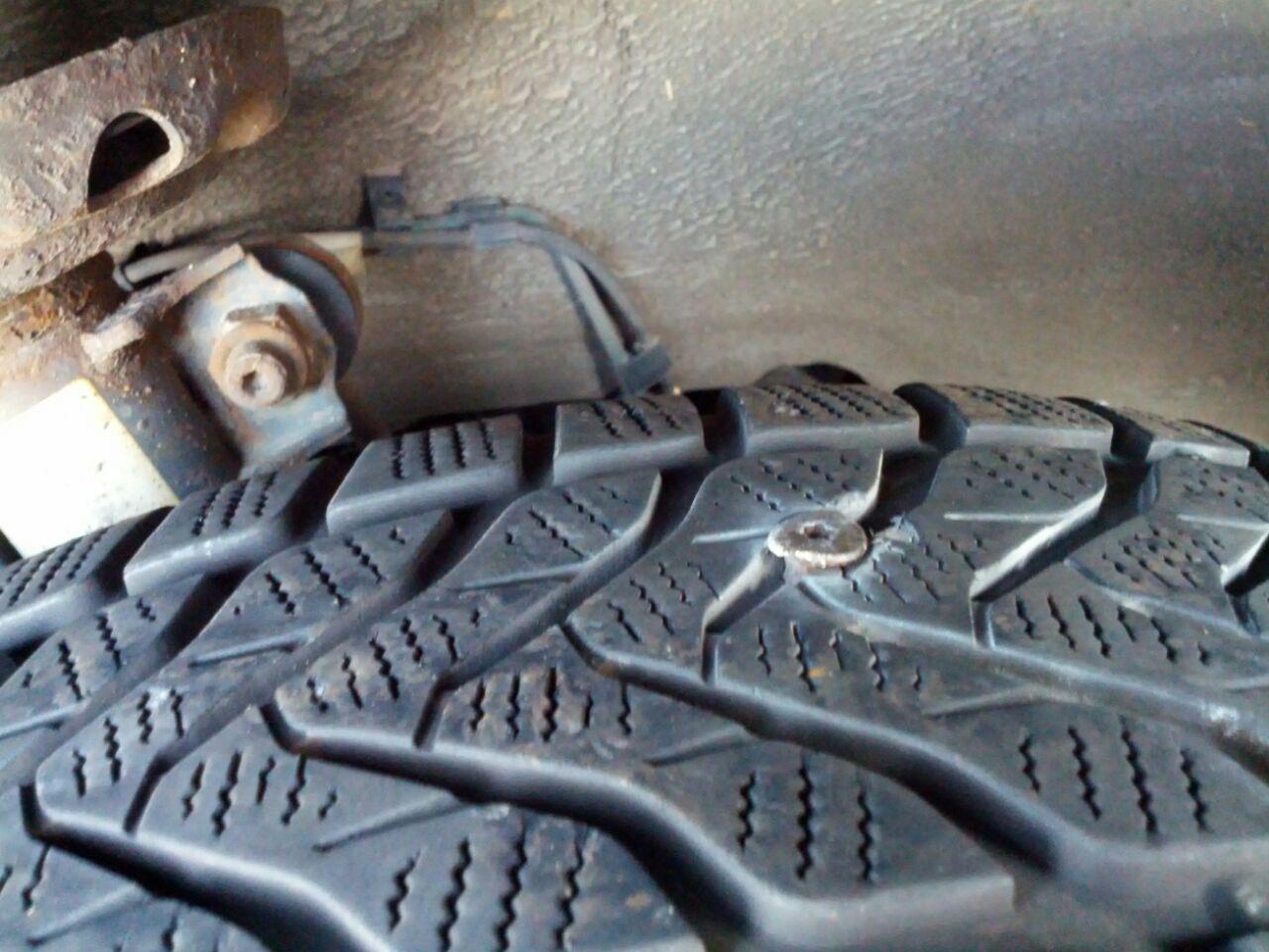 Flat tire again