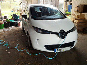 Test drive with the Renault ZOE (22KWH)